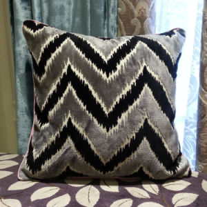 Luxurious Zigzag Cut Pile Quality Sofa Cushion Cover