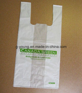 Customized Printed Biodegradable Polythene Bags for Shopping