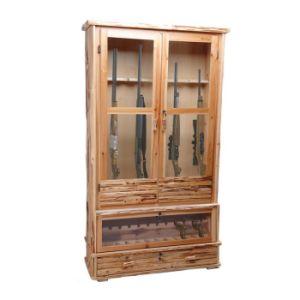 Wooden Gun Cabinetpine Gun Cabinet