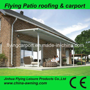 Hot Sale 3*3*2.45m Aluminum Alloy Frame Polycarbonate Single Paito Roofings, Varanda, Automobile Parking Canopy