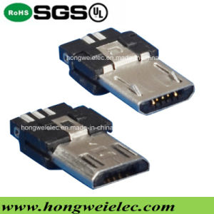 Male 5pin Super Thin Type Micro USB Connector