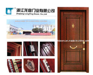 New Turkish Steel Wooden Armored Door with High Quality pictures & photos