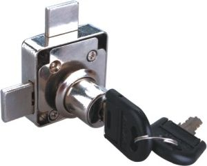 Double Baffle Drawer Lock