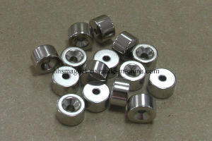 Sintered NdFeB Cylinder Magnet with Countersunk pictures & photos