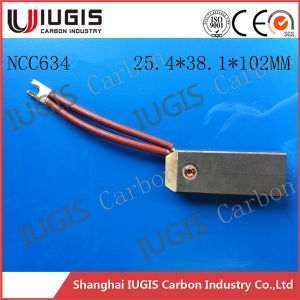 Best Quality Carbon Brush Ncc634 for Power Plant Motor Generator Use pictures & photos