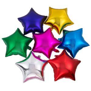 Resultado de imagen de star-shaped mylar balloons