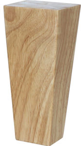 Hot In Stock High Quality Square Tapered Natural Wood Sofa Legs Feet Mj 1331c