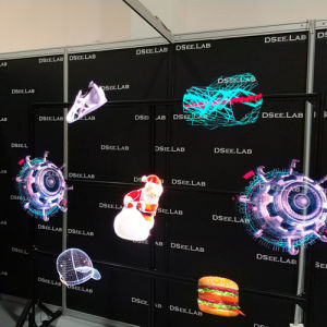 Advertising Hologram Display 3D Holographic Fan 3D Holorgraphic LED Fan  with WiFi and Phone APP