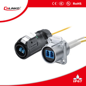 Lp24 Signal Optical Fiber Connector for Monitor and Thermal Sensor pictures & photos