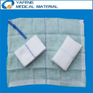 Non Washed Absorbent Lap Sponge with Blue Loop and X-ray pictures & photos