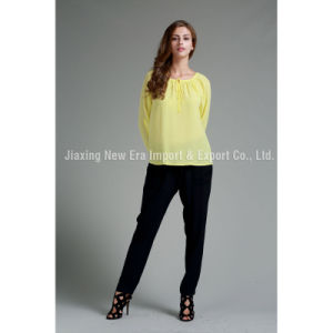 Women′s Ladies Long Sleeve fashion Blouse