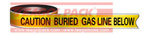 Detectable Warning Gas Line Tape pictures & photos