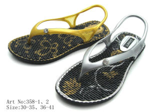 Ladies′ PVC Sandal (358)