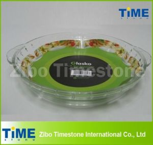 2.5L Borosilicate Round Glass Baking Dish pictures & photos