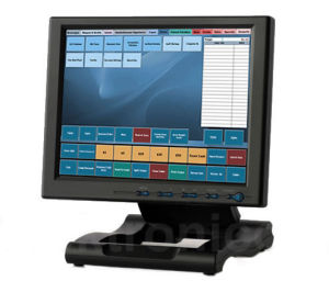 VGA/HDMI/DVI Input Industrial Touch 10.4 Inch TFT LCD Monitor (1042AT) pictures & photos