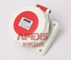 IP67 Container Socket (Panel Mounted/Straight)