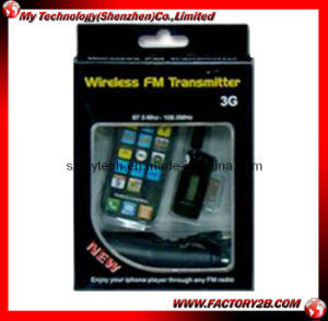 Wireless FM Transmitter for iPhone 4G/ iPhone/iPhone 3G/iPhone 3GS/iPod (MYFM-002)