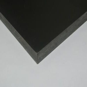 Black Thick Rigid PVC Sheet / Board pictures & photos
