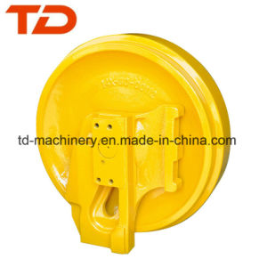 Front Idler for Excavator Bulldozer OEM Small MOQ Construction Undercarriage Parts Guider Wheel