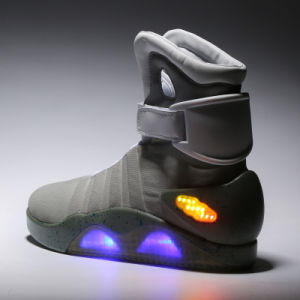 Best Selling OEM ODM Fashion High Top Sport Shoe LED Light Shoes Unisex Lighting Shoes