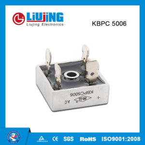 Kbpc5006 50A 600V Single Phase Bridge Rectifiers pictures & photos