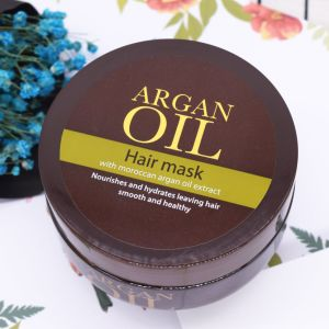 Private Label Organic Argan Oil Hair Mask for Hair Treatment pictures & photos