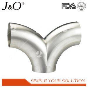 Sanitary Stainless Steel 45D Long Elbow pictures & photos