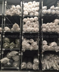Stacking Storage Frame Textile Industrial Folding Tier Rack for Fabric Carpet Roll pictures & photos