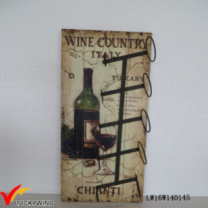 Wall Design Retro Rack for Wine Bottles pictures & photos