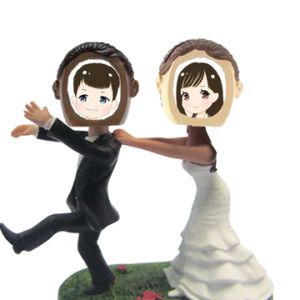 Indoor Wedding Decoration Bobble Head Dolls Creative Resin Bobble Head pictures & photos