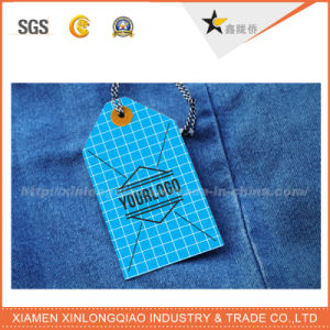 High Quality Full Color Custom Paper Swing Tag for Clothing pictures & photos
