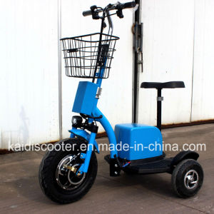55km Range Per Charge Ce Certificated 3 Wheels Electric Scooter Zappy Scooter pictures & photos