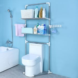 China Dq 0053a New Style Space Saver Over Toilet Multi Function
