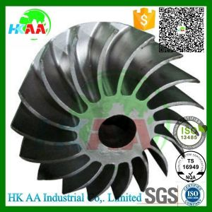 5 Axis Simultaneous Motion Machined Titanium Stinless Steel Centrifugal Impeller pictures & photos