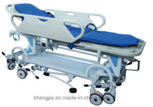 Sjm012 Luxurious Cart for Hand-Over of Patients to Operation Room