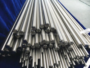 Annealed Polished Straight Medical Implant Bright Titanium Rods Gr23 in Certificate En10204 3.1 pictures & photos