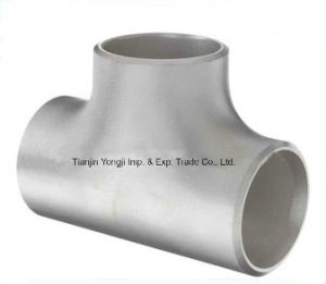 Welding Alloy Steel Pipes Fittings Tee