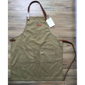 Top Quality Utility Brown Canvas Woodwork Aprons Wholesale