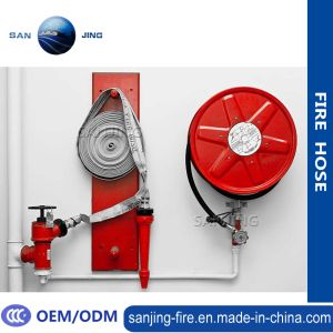 Sanjing Firefighting with Lining PVC Fire Hose pictures & photos