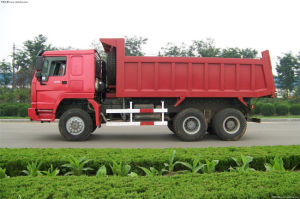 Sinotruk 420HP 12L Engine Dumping Truck pictures & photos