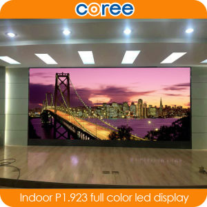 Indoor High Definition SMD P1.923 Full Color LED Display pictures & photos