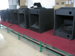 "Professional Sound Audio Dual 18"" Subwoofer (FS-218) pictures & photos"
