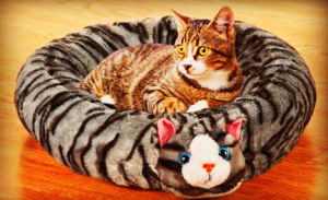 Short Plush Cat Bed pictures & photos