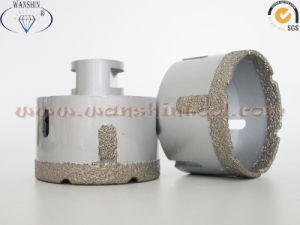 Vacuum Brazed Dry Drill Bit for Porcelainware Stoneware Drill Bit pictures & photos