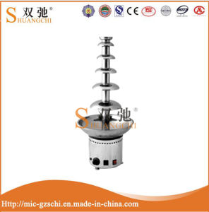 Commercial 6 Tiers Stainless Steel Chocolate Fountain Machine pictures & photos