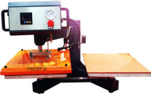 Heavy Duty Swinger Double Station Pneumatic Heat Press Machine pictures & photos
