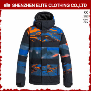 Customized Windbreaker Breathable Sublimation Snowboard Jackets (ELTSNBJI-33) pictures & photos