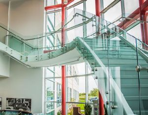 Australia Standard Glass Frameless Glass Railing with Patch Fitting Design pictures & photos