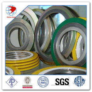 Soft Iron Dn150 Class 300 Spiral Wound Gasket pictures & photos