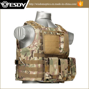 Molle Airsoft Vest Paintball Combat Soft Safety Military Vest pictures & photos